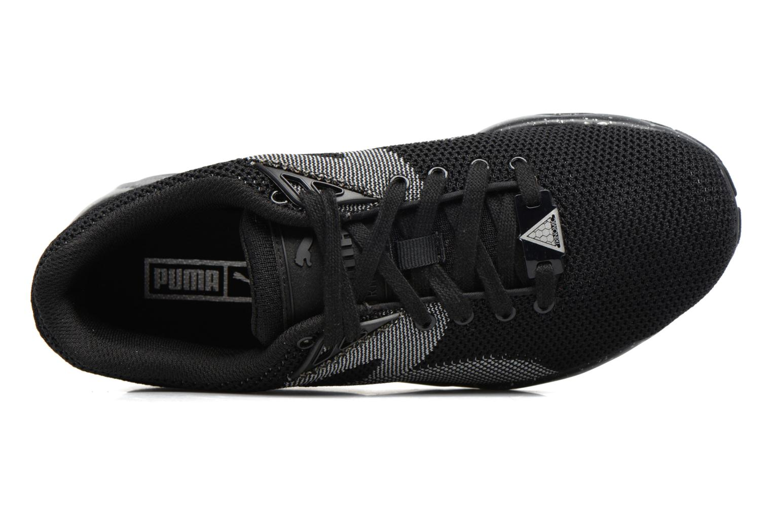 Sneakers Puma Trinomic R698 Knit Speckle W Nero immagine sinistra
