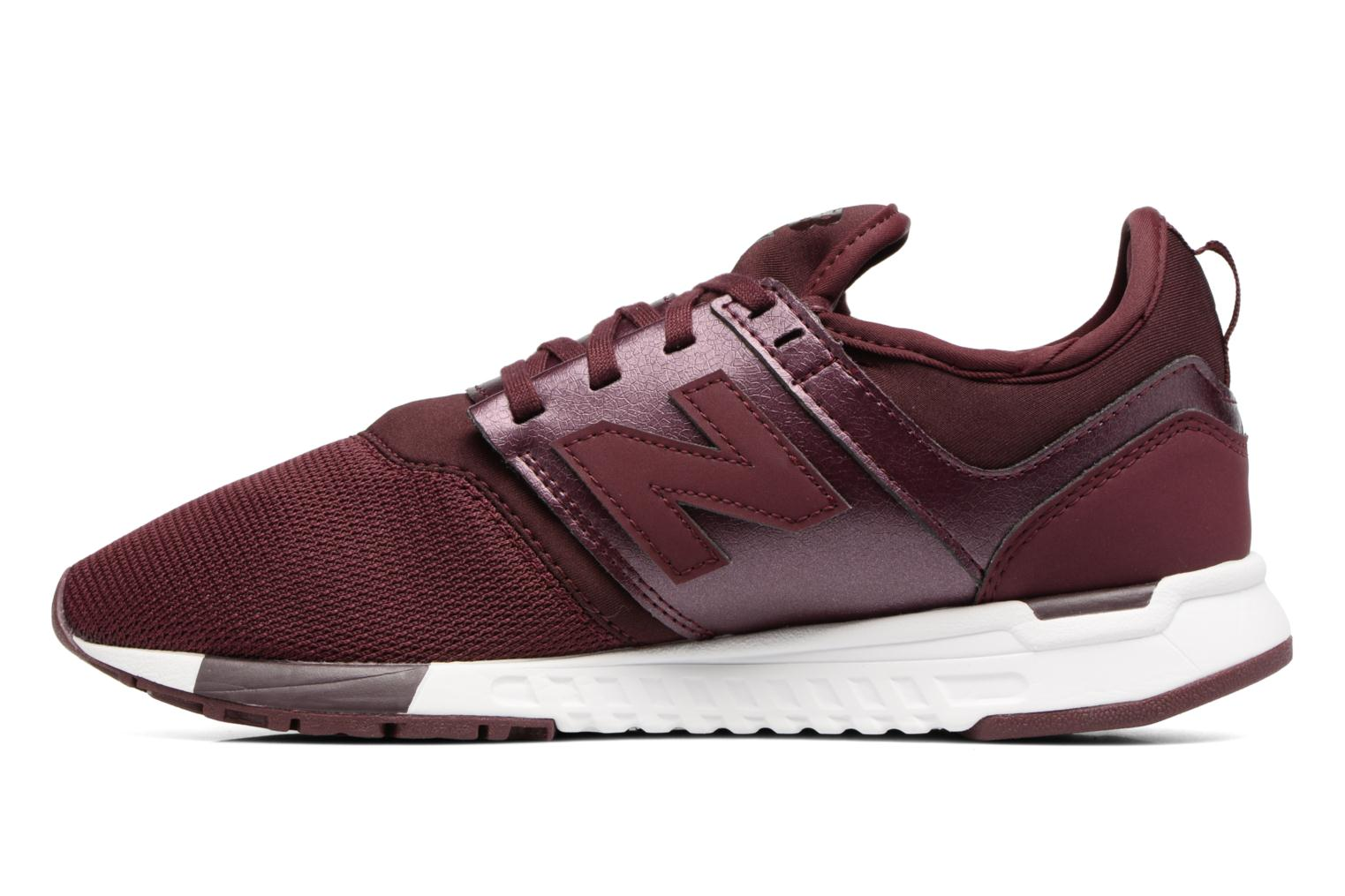 Trainers New Balance WRL247 B Burgundy front view