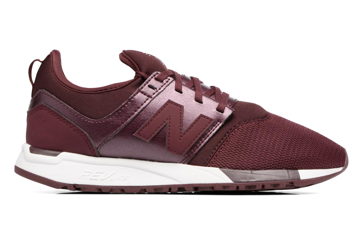 Trainers New Balance WRL247 B Burgundy back view