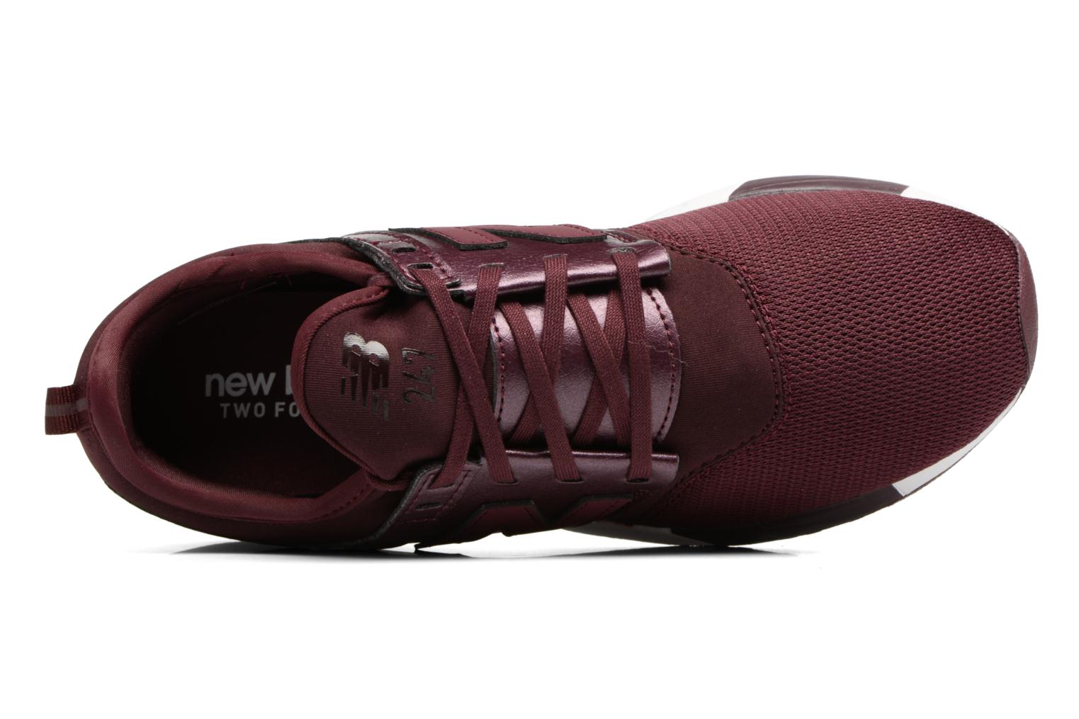 Trainers New Balance WRL247 B Burgundy view from the left