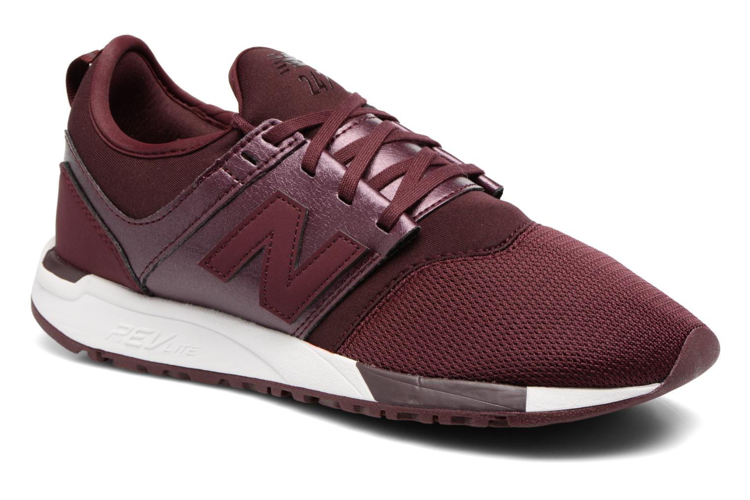 Trainers New Balance WRL247 B Burgundy detailed view/ Pair view