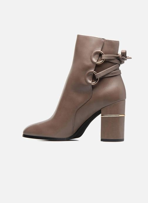 Ankle boots What For Ross Calf Grey front view