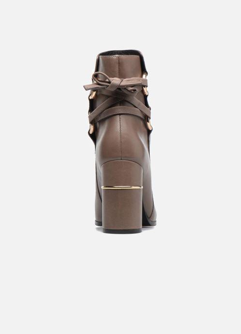 Bottines et boots What For Ross Calf Gris vue droite
