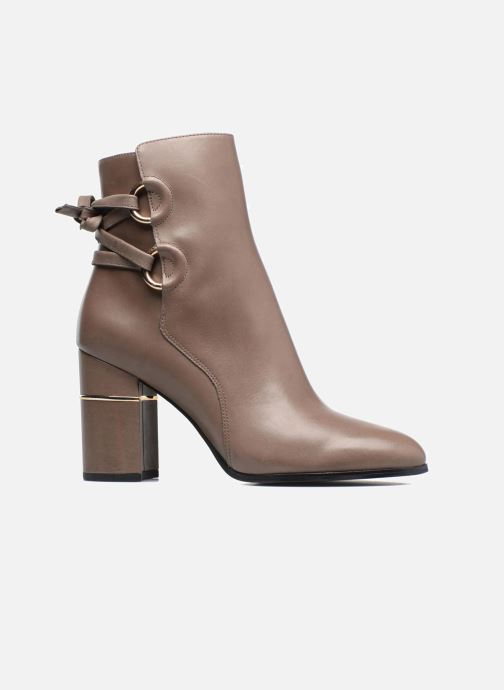 Botines  What For Ross Calf Gris vistra trasera
