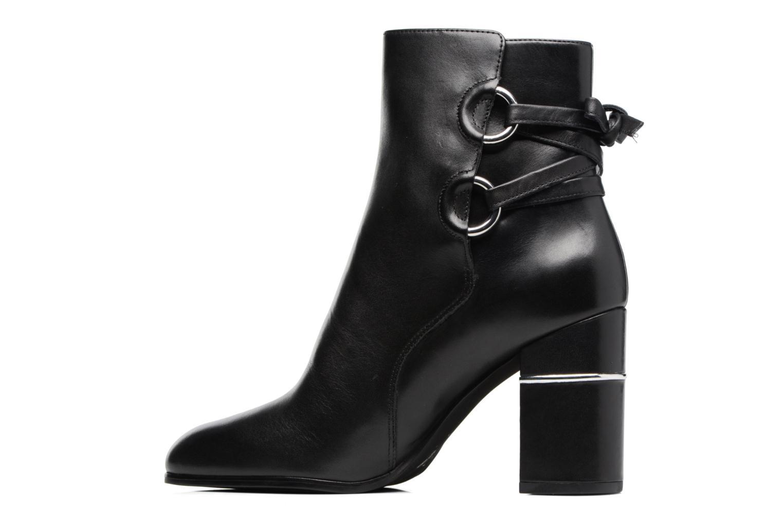 Bottines et boots What For Ross Calf Noir vue face
