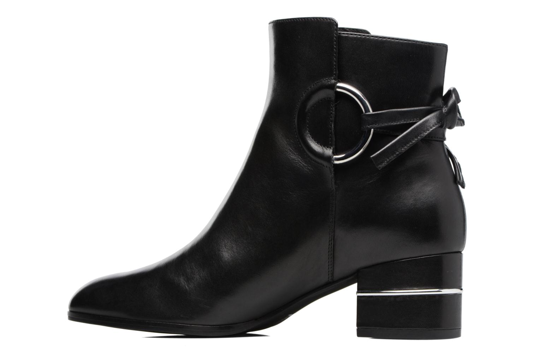 Bottines et boots What For Aiden Calf Noir vue face