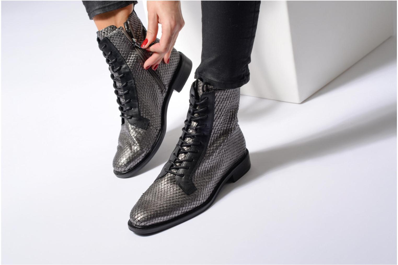 Bottines et boots What For Bree Nappa Argent vue bas / vue portée sac
