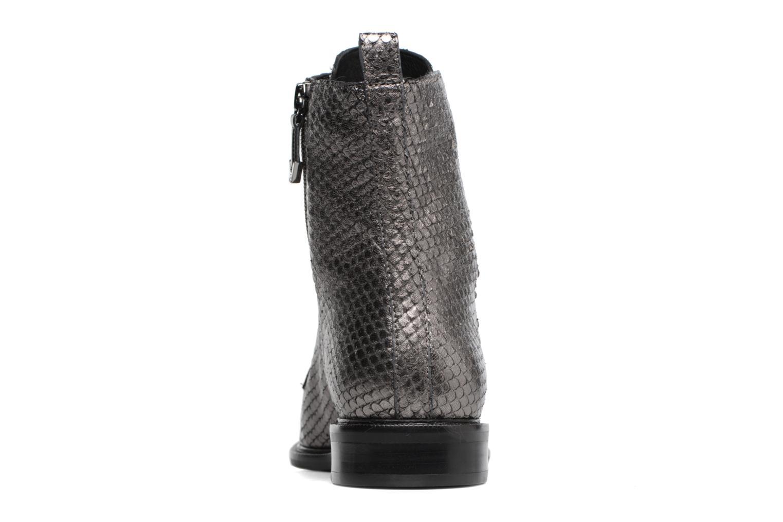 Bottines et boots What For Bree Nappa Argent vue droite