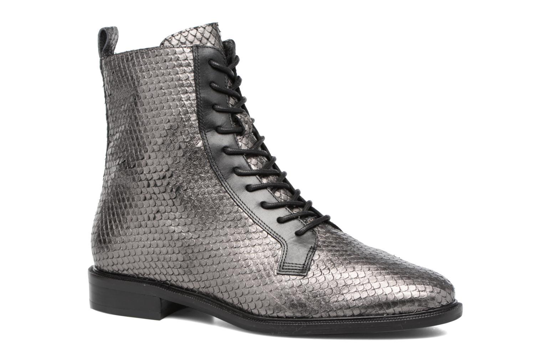 Bottines et boots What For Bree Nappa Argent vue détail/paire