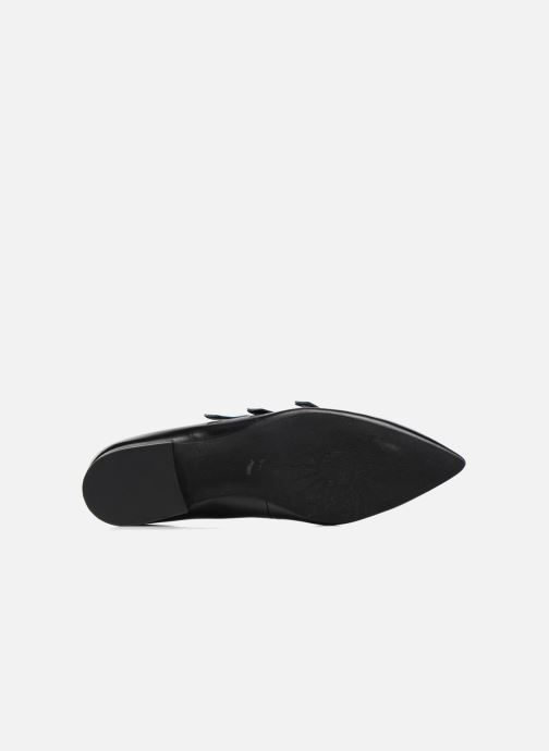 Ballet pumps What For Georgette Calf Black view from above