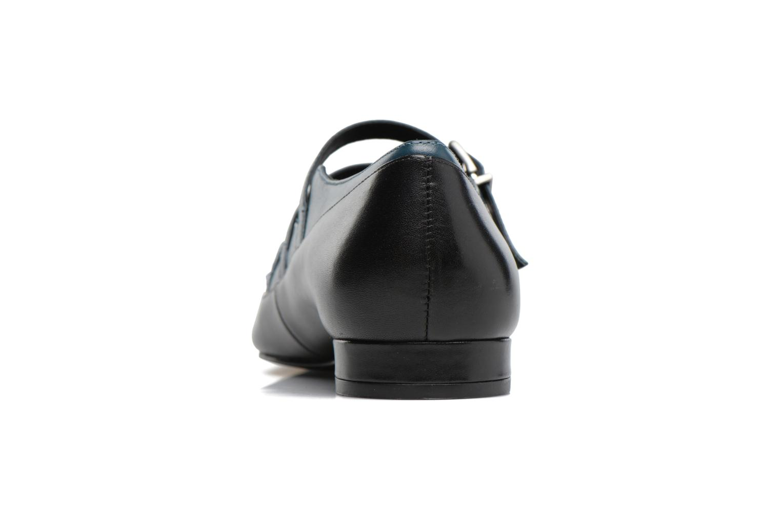 Ballerines What For Georgette Calf Noir vue droite