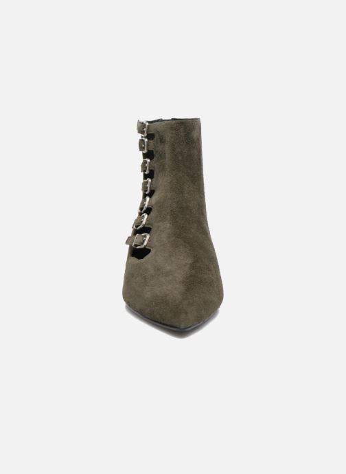 Bottines et boots What For Vogue Vert vue portées chaussures
