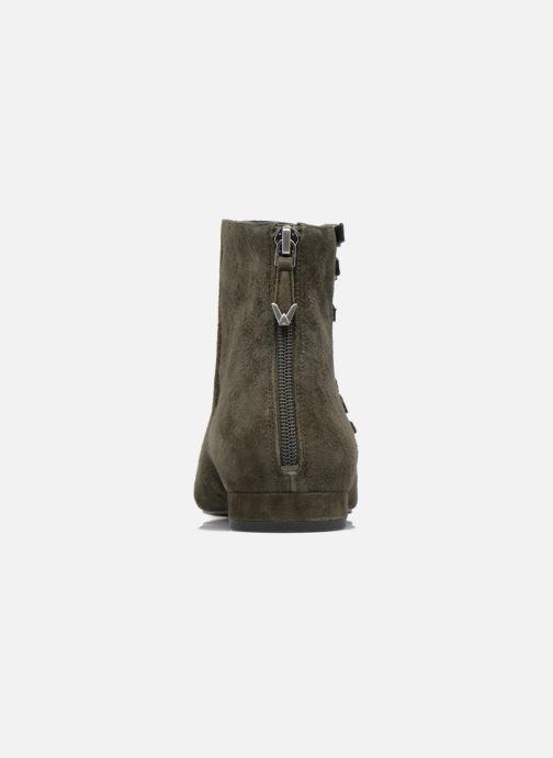 Bottines et boots What For Vogue Vert vue droite