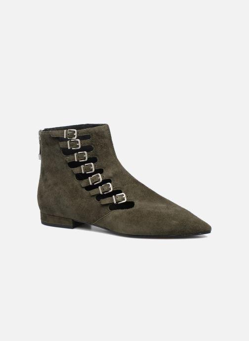 Bottines et boots What For Vogue Vert vue détail/paire