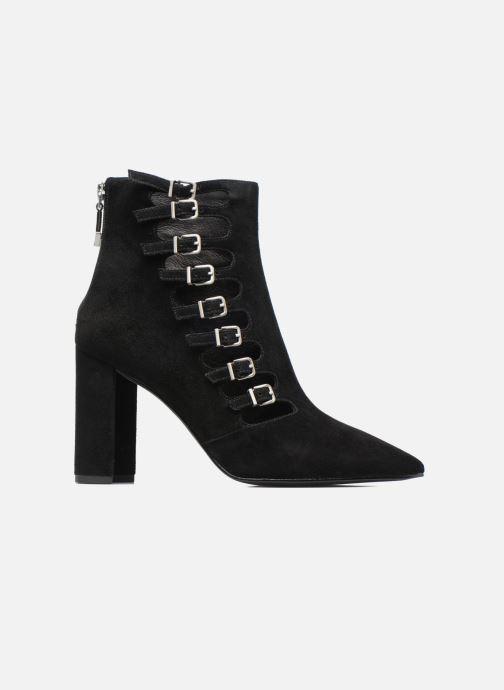 Boots en enkellaarsjes What For Lou Zwart achterkant