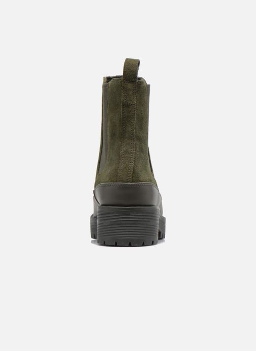 Bottines et boots What For Homer Vert vue droite