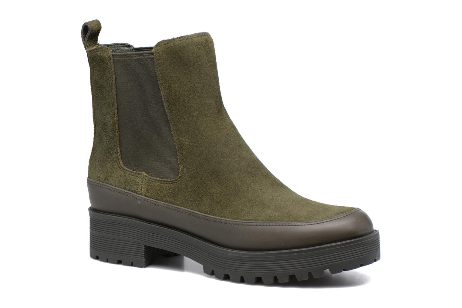 Bottines et boots What For Homer Vert vue détail/paire