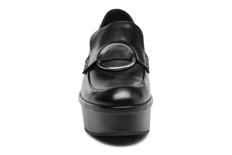 Mocassins What For Imane Noir vue portées chaussures