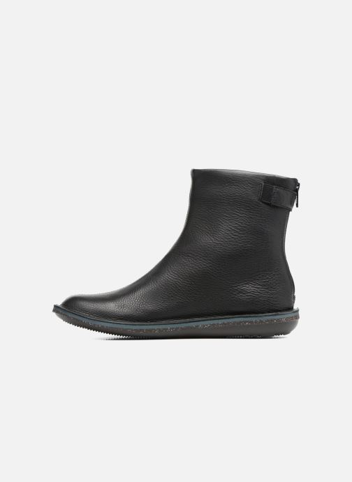 Ankle boots Camper Betle K400010 Black front view
