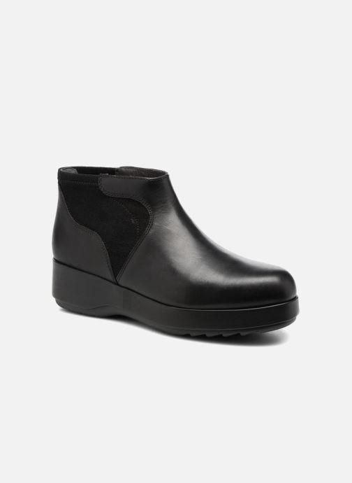 Ankelstøvler Camper Dessa K400204 Sort detaljeret billede af skoene