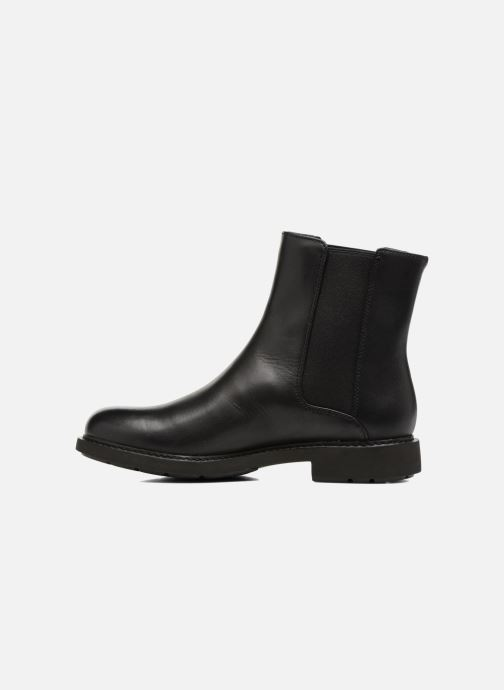 Ankle boots Camper Neuman K400246 Black front view