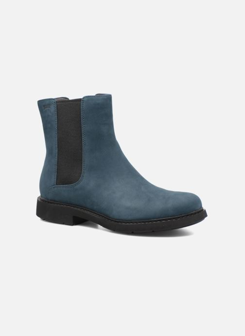 Ankle boots Camper Neuman K400246 Blue detailed view/ Pair view