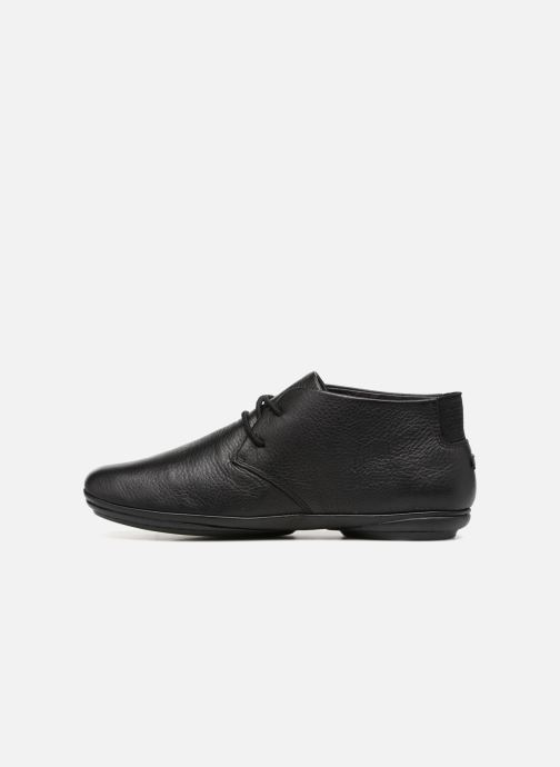 Zapatos con cordones Camper Right Nina K400221 Negro vista de frente