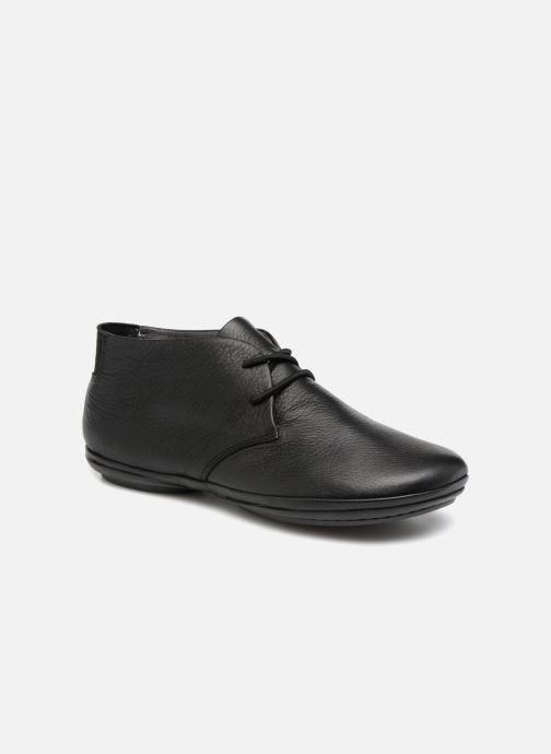 Zapatos con cordones Camper Right Nina K400221 Negro vista de detalle / par