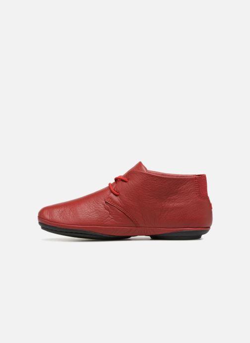 Zapatos con cordones Camper Right Nina K400221 Rojo vista de frente