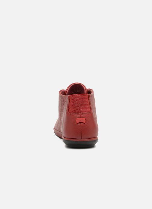 Zapatos con cordones Camper Right Nina K400221 Rojo vista lateral derecha