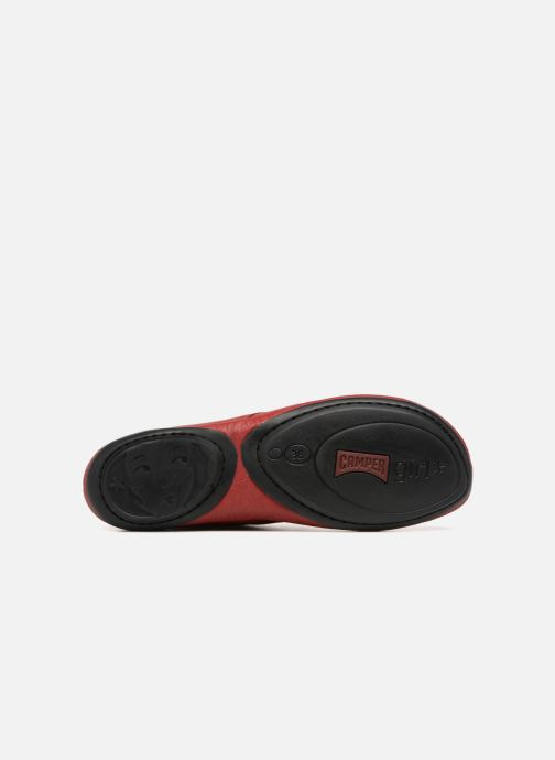 Chaussures à lacets Camper Right Nina K400221 Rouge vue haut