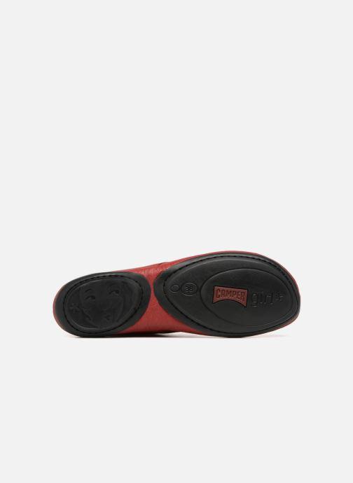 Zapatos con cordones Camper Right Nina K400221 Rojo vista de arriba
