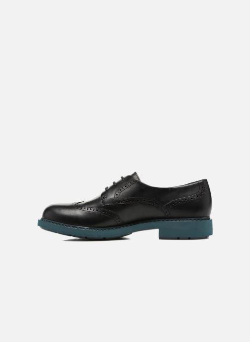 Lace-up shoes Camper Neuman K200513 Black front view