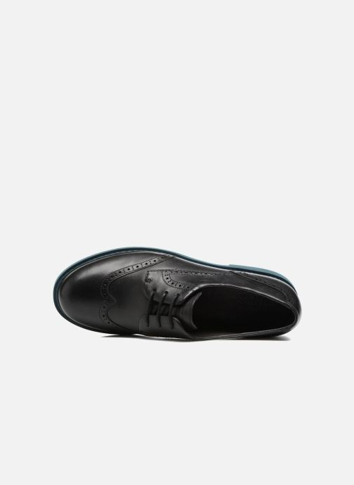 Lace-up shoes Camper Neuman K200513 Black view from the left