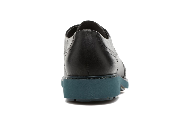 Zapatos con cordones Camper Neuman K200513 Negro vista lateral derecha