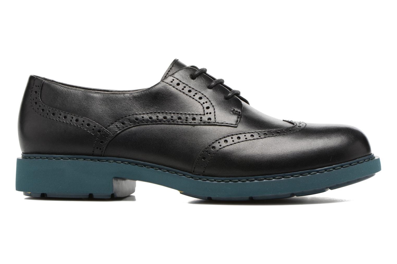 Zapatos con cordones Camper Neuman K200513 Negro vistra trasera