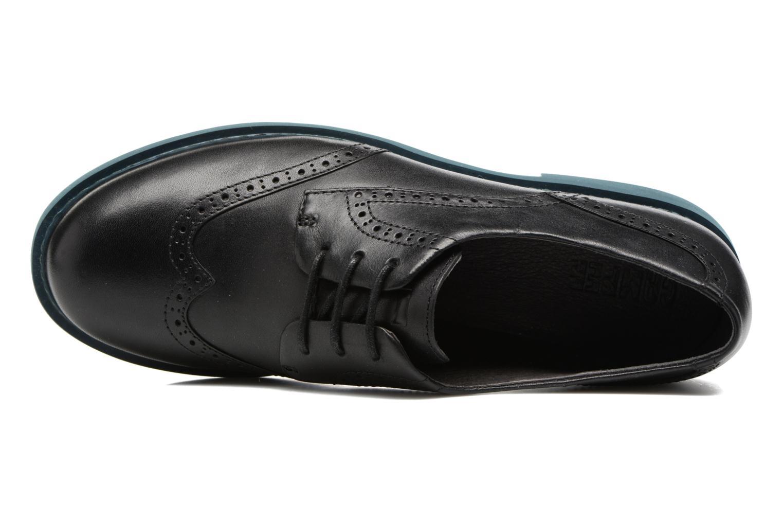 Zapatos con cordones Camper Neuman K200513 Negro vista lateral izquierda