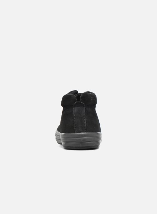 Baskets Camper Hoops K400206 Noir vue droite
