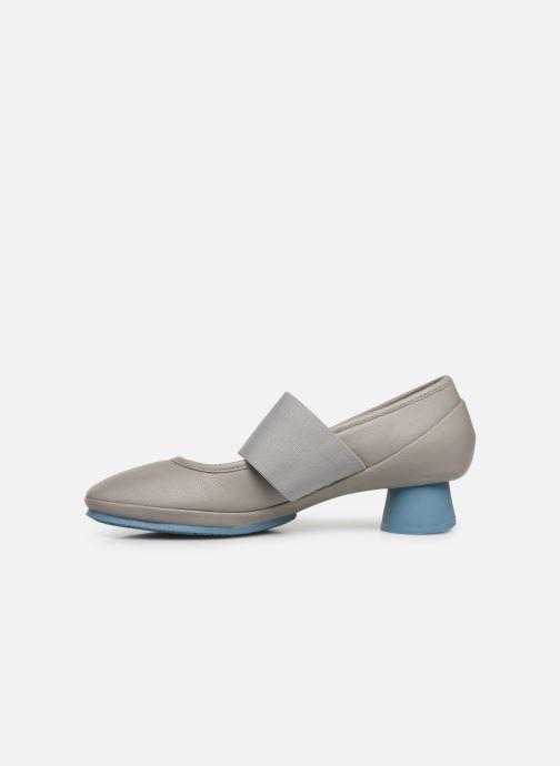 Zapatos de tacón Camper Alright K200485 Gris vista de frente