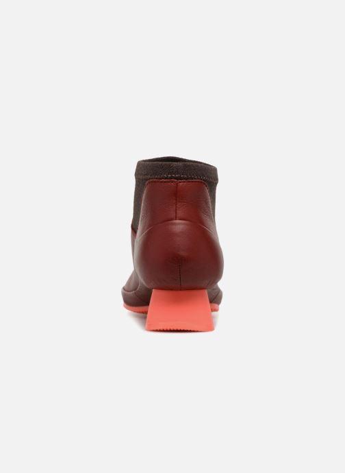 Bottines et boots Camper Alright K400218 Rouge vue droite