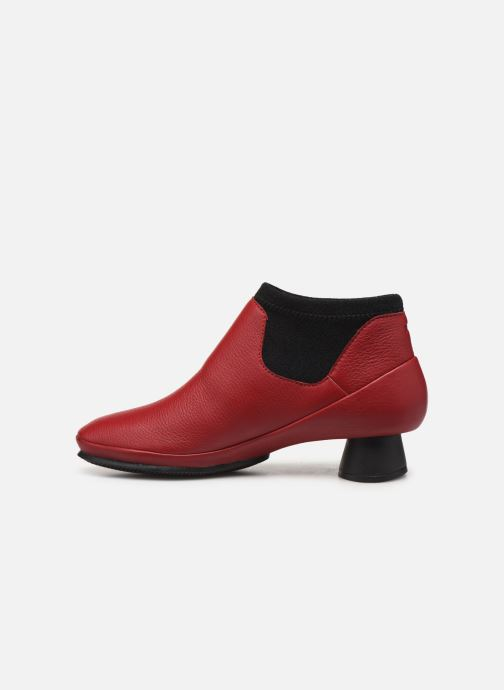 Ankle boots Camper Alright K400218 Red front view