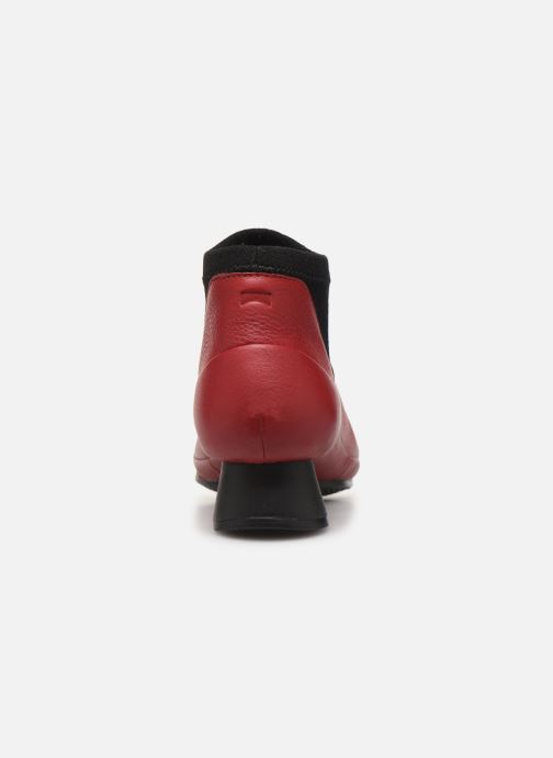 Ankle boots Camper Alright K400218 Red view from the right