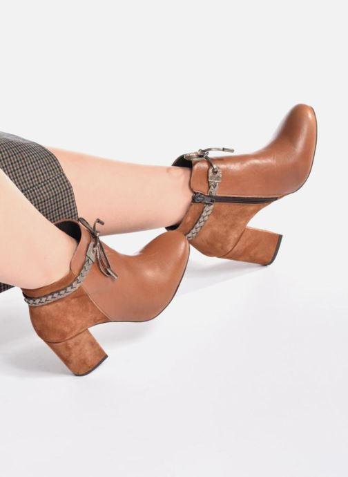 Noir Boots Bottines Latressa Georgia Et Rose nP08wkO