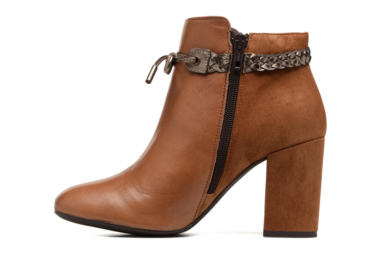 Bottines et boots Georgia Rose Latressa Marron vue face