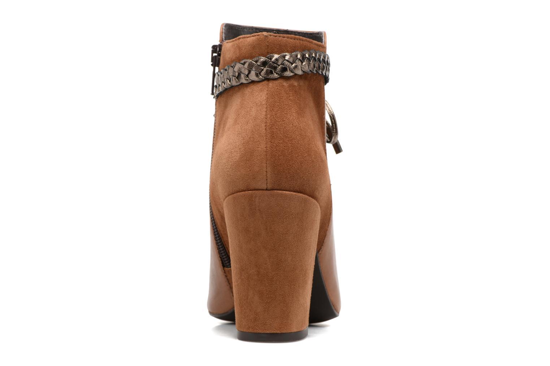 Bottines et boots Georgia Rose Latressa Marron vue droite