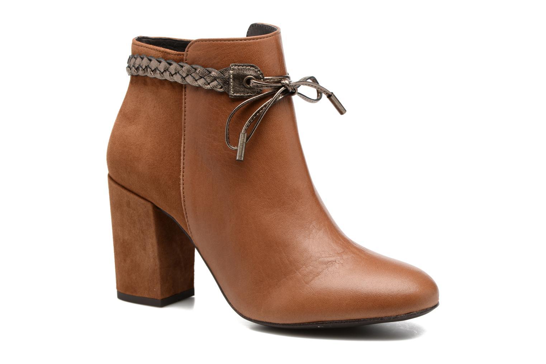 Bottines et boots Georgia Rose Latressa Marron vue détail/paire