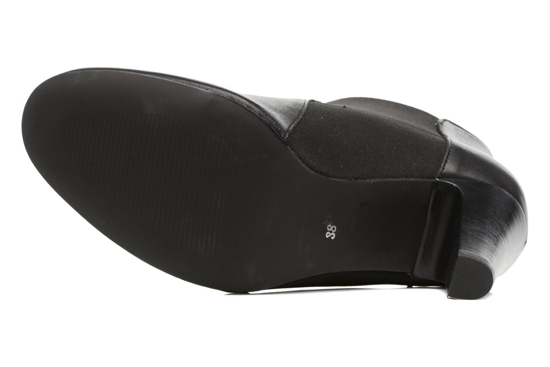 Bottines et boots Georgia Rose Lastic Noir vue haut