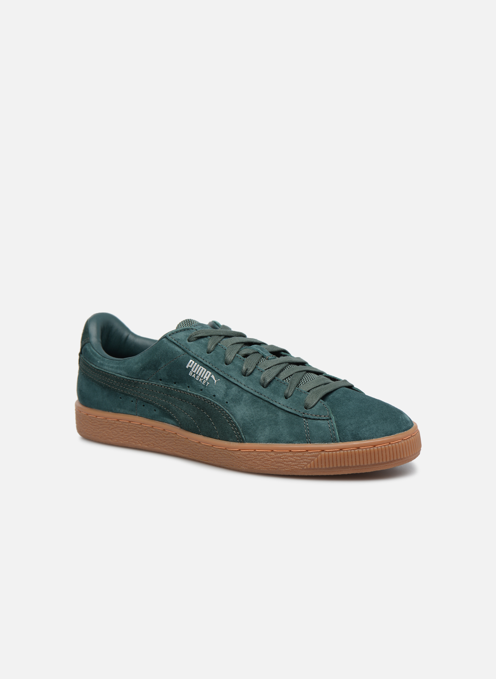 Sneakers Puma Basket Weatherproof Verde vedi dettaglio/paio