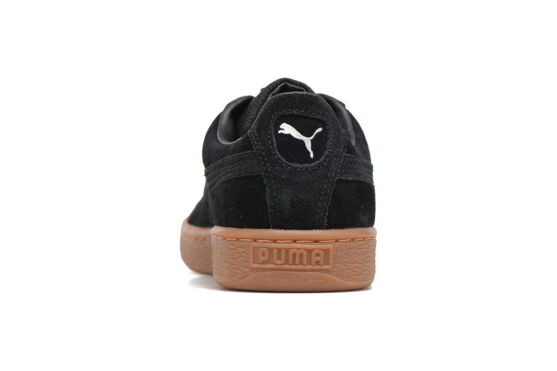 Sneakers Puma Basket Weatherproof Nero immagine destra