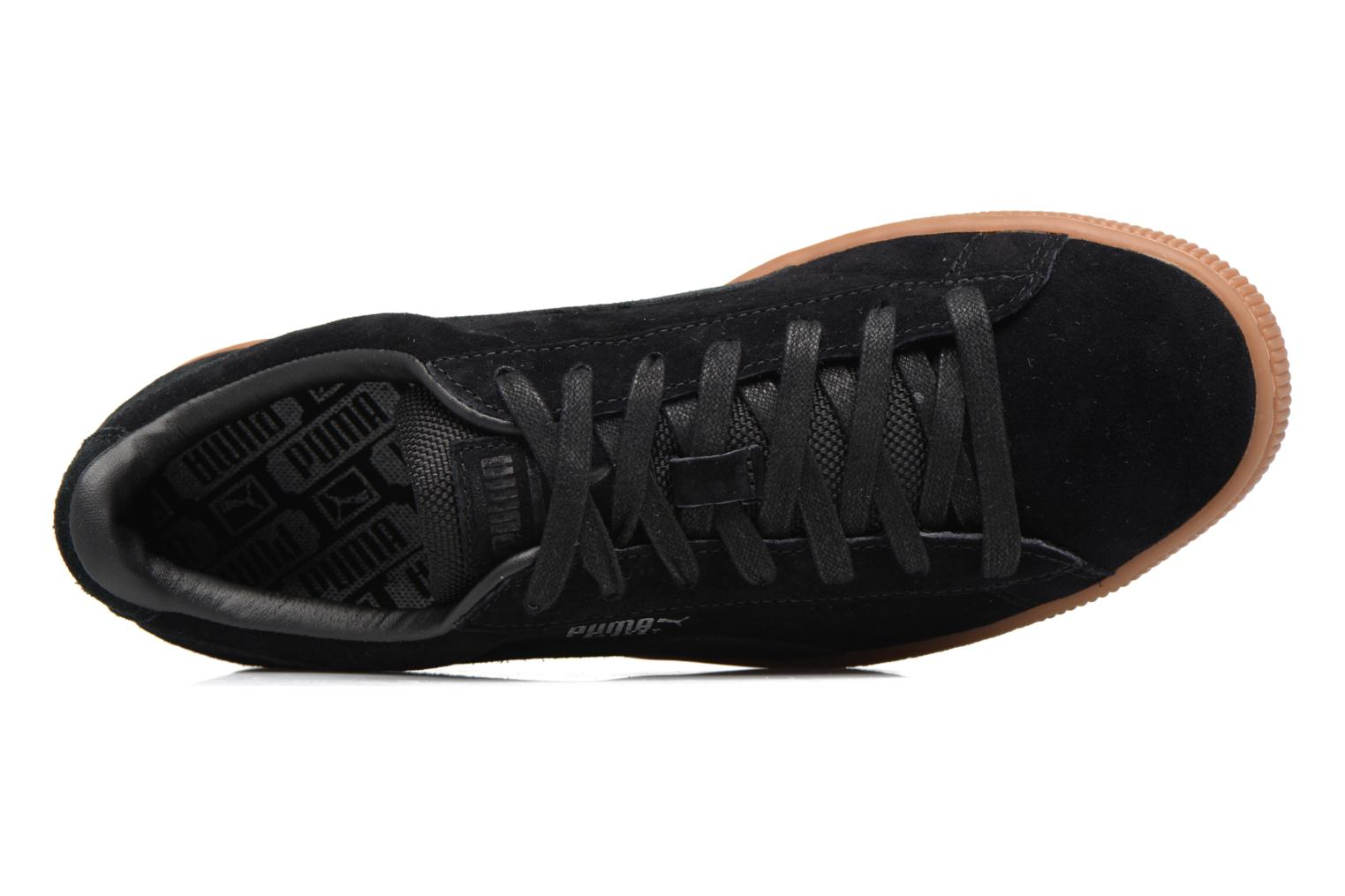 Sneakers Puma Basket Weatherproof Zwart links